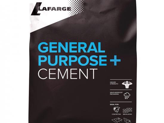 Lafarge Cement plastic